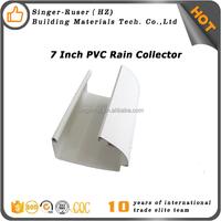 Building Material house roof pvc rain water gutters guangzhou company