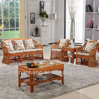 SF001 Conservatory Cane Sofa Sets