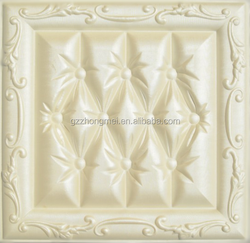 Hot selling model for leather carving 3d leather wall panel / decorative wall panels