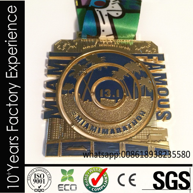 CR-II623_medal accept drop ship dyed black medal for sell