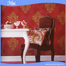 2015 latest design classical decor wallpaper for home&hotel
