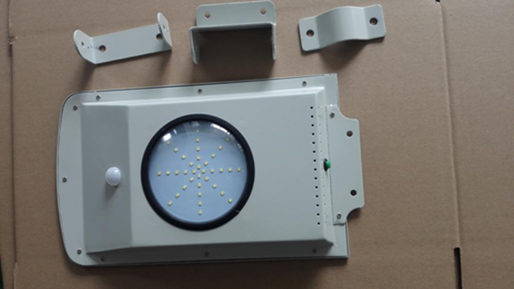 Shenzhen all in one solar CE Rohs approval 6watt integrated led street light