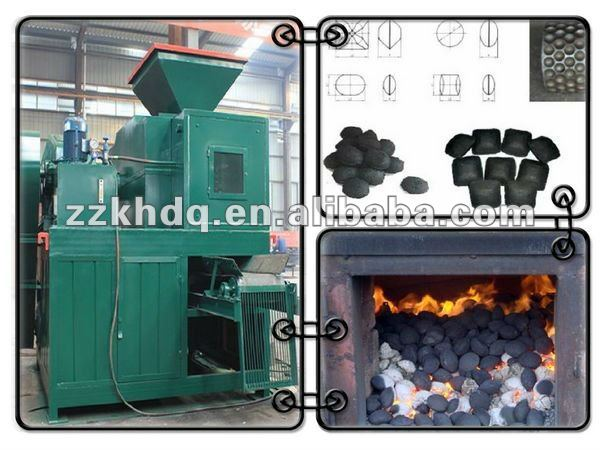 Coal/charcoal Briquette making machine