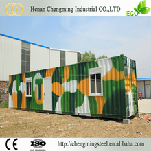 Good Performance Solid Mobile Container House 20Ft Transformed/Multi Family Prefabricated Home