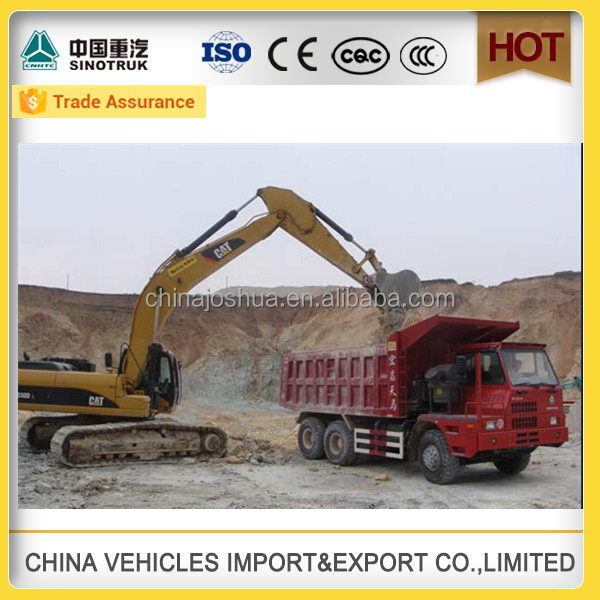 hot sale sinotruk relations 420hp ouedkniss camion howo mine dumper