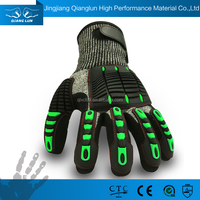 Big clearnace sale impact protection cut resistant rigging gloves