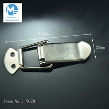 stainless steel strong hasp toggle latch keyless cabinet lock for industrial machine or tooling box