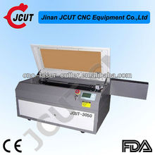 plastic film/mobile stickers laser cutting machine JCUT-3050