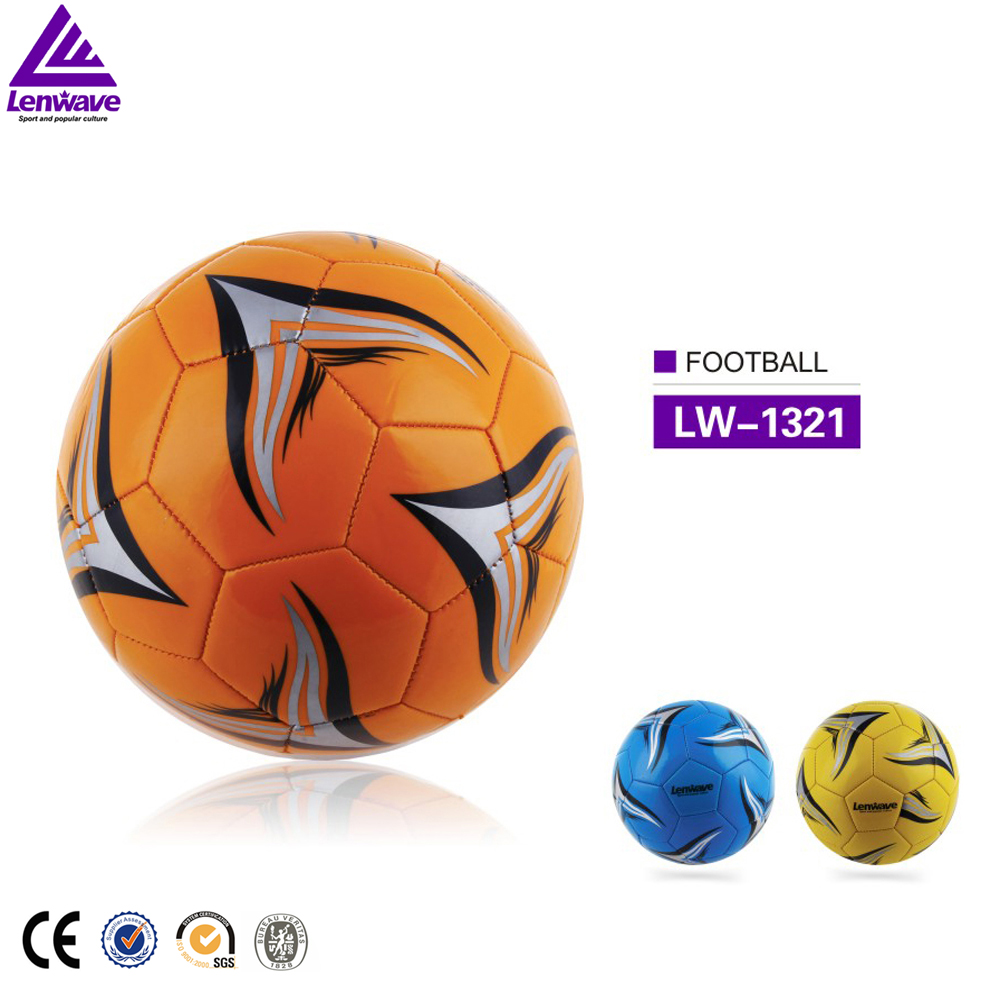 All Size PVC Materials Colorful Custom Soccer Ball