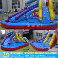 custom-design inflatable water slide blower