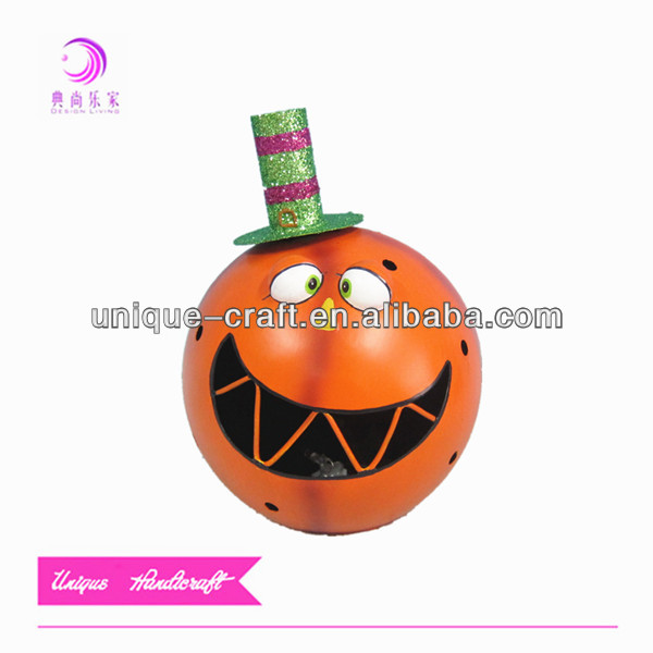 wholesale halloween contacts pumpkin LED light