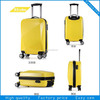 High quality abs+pc travel mate /luggage made in China D080.
