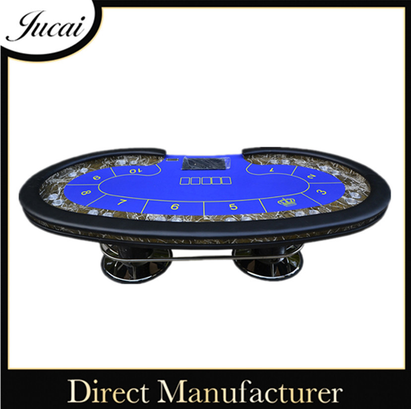 Professional casino gaming table for poker game
