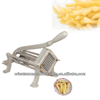 Manual Commercial French Fry Cutter potato chip cutter with two blades