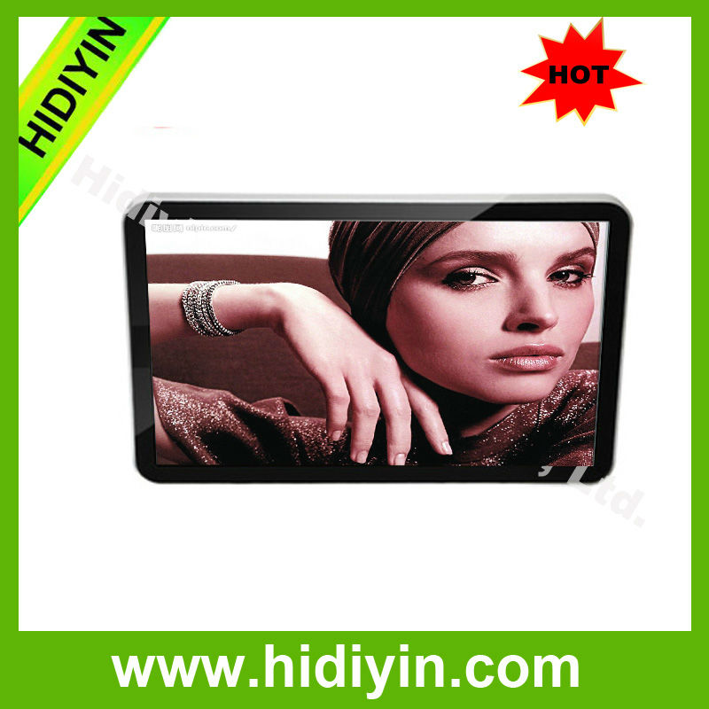 18.5 inch digital advertising english hot movies led display screen