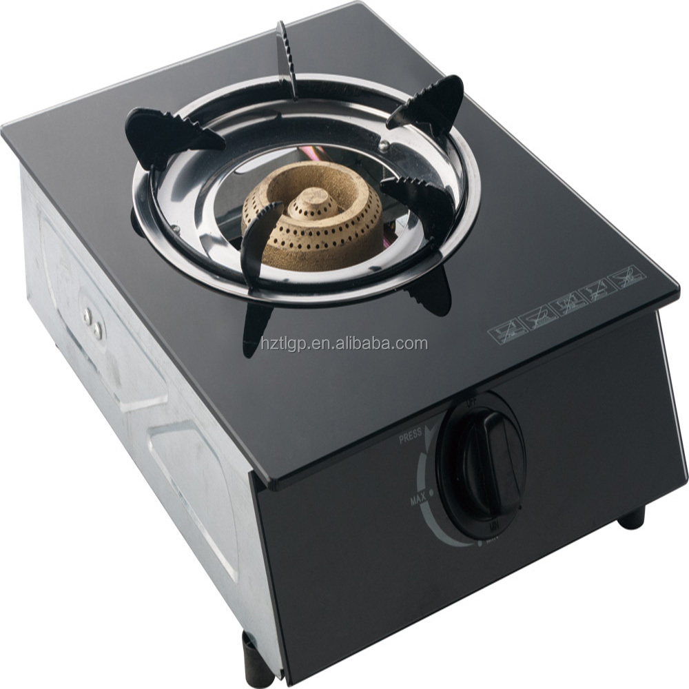 One Burner Glass Table Top Gas Cooker / Gas Burner / Gas Stove with CE