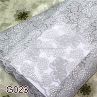 Top one china african lace High quality chemical lace fabric Different kinds of fabrics with picturesG023
