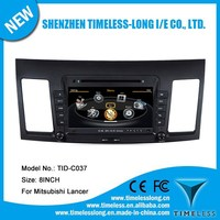 S100 Car GPS For Mitsubishi Lancer 2010-2011 with GPS A8 Chipset 3 zone POP 3G/wifi BT 20 dics playing