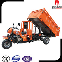 Heavy Load 2500kg 3 Wheel Moto Tricycle Dump Three Wheeler