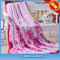 polar fleece bed design textile flannel blankets factory for home/office/hotel