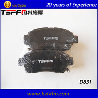 auto spare parts carbon ceramic brake pads with high performance