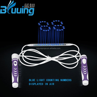 Innovative products 2016 New arrival OEM Fashion PVC skipping rope led/digital jump rope