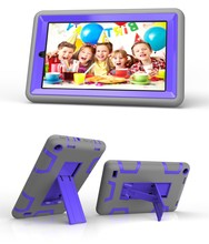 Wholesale Price For Amazon Kindle Fire 7.0 Colorful Silicone Case Shockproof Cover For Kids