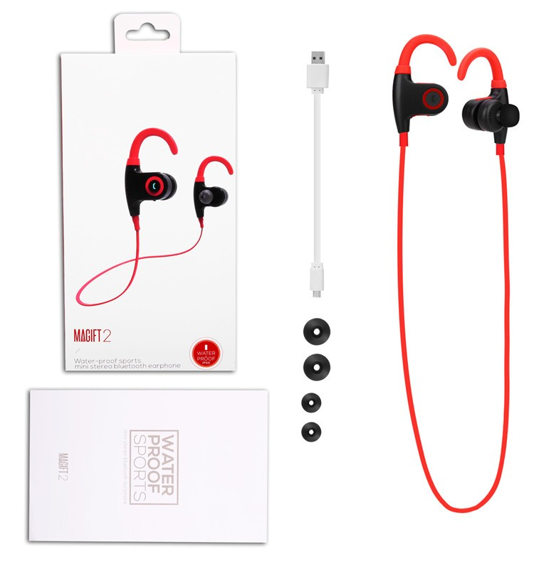 Magift2 Newest Sport Bluetooth waterproof earphone