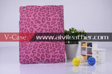 Leopard leather Case For Apple iPad Air