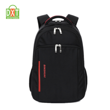 Durable waterproof polyester outdoor mens black backpack bag sport
