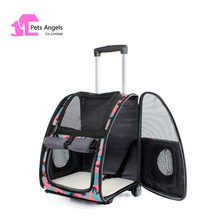 PVC Pet Outdoor Purse Carriers Dog Carrier Bags Houndstooth Fashion Cat Carriers