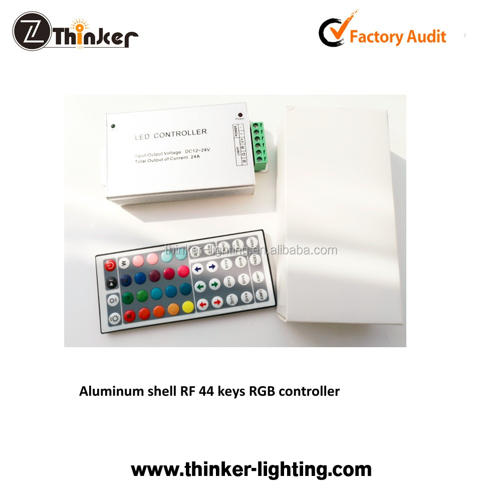 Thinker white box Touch Screen RGB Led Controller dimmer RF Wireless Remote Control For 5050 3528 RGB
