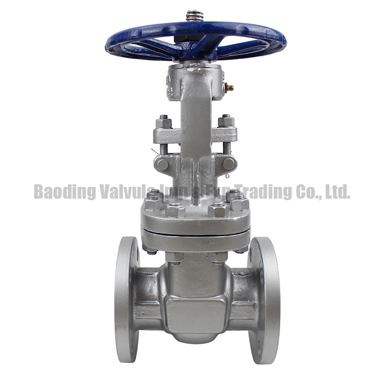 low pressure low temperature 6 inch water API cast carbon steel flanged Gate Valve
