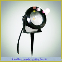 brightness for yard or park COB high power ip65 north light led garden