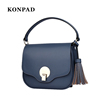 KA0052 Women Purse Handbag Shoulder Bag Top Handle Satchel With Tassel