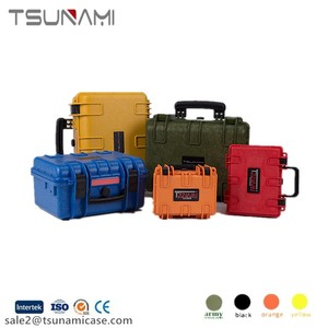 Tsunami 382718 hard plastic drones case laptop and equipment dry box