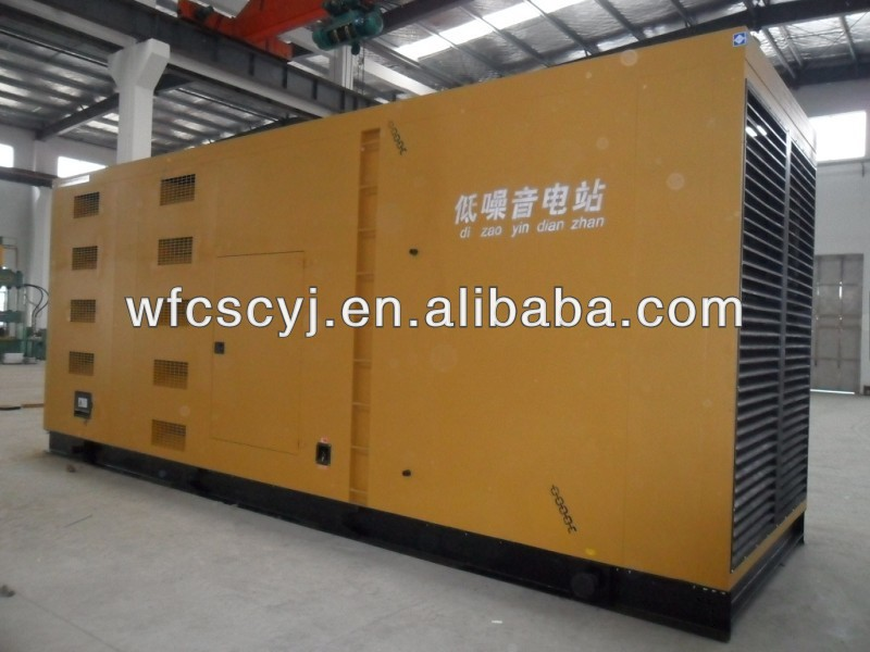 CE approved 10-300KW Ricardo soundproof diesel generator