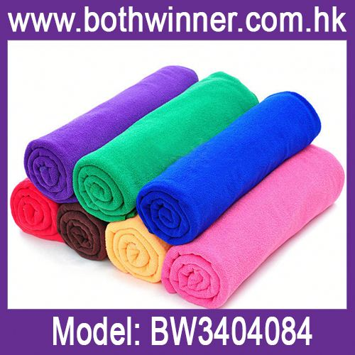 Abosrbent microfiber towel ,h0teE microfiber towel car wash for sale