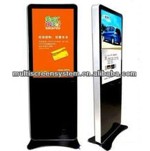 82inch wireless network 3G android LCD advertising media player for bus/elevator/supermarket