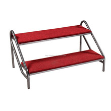 Cheap Metal portable stage stairs platform