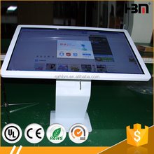 Advertising ipod touch lcd touch screen desk