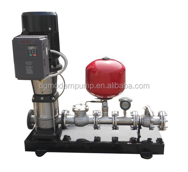PID controller booster water supply system