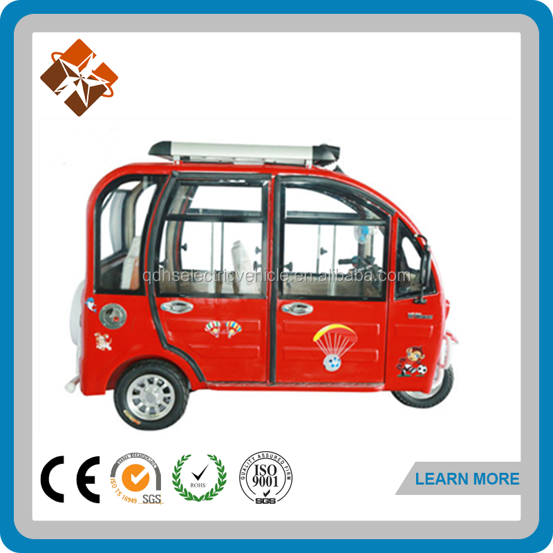 closed cabin three wheel motorcycle electric tricycle price good
