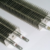 Electric Finned Tube Heater Element