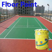 Paint supplier- Waterproof all weather outdoor polyurethane floor paint finish