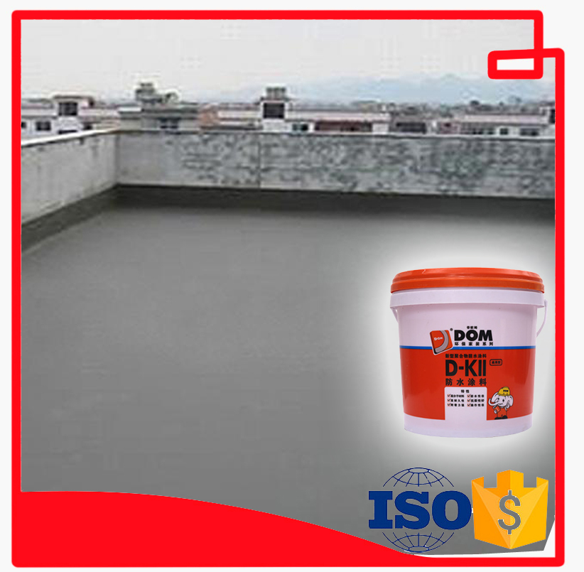 D-KII(S)10kgs-Polymer Waterproof Coating Material/roof/wall/bathroom/kitchen
