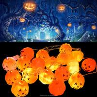 Halloween decorative string light holiday light pumpkin 3m string light