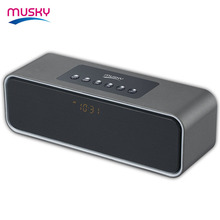 low cost good sound new design bluetooth speaker with led