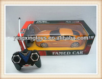 kids plastic remote control toy 1/18 rc car
