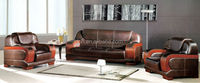 Alligator Leather Luxury Big Sofa Set Supplier in Guangzhou(FOHJ-6621)